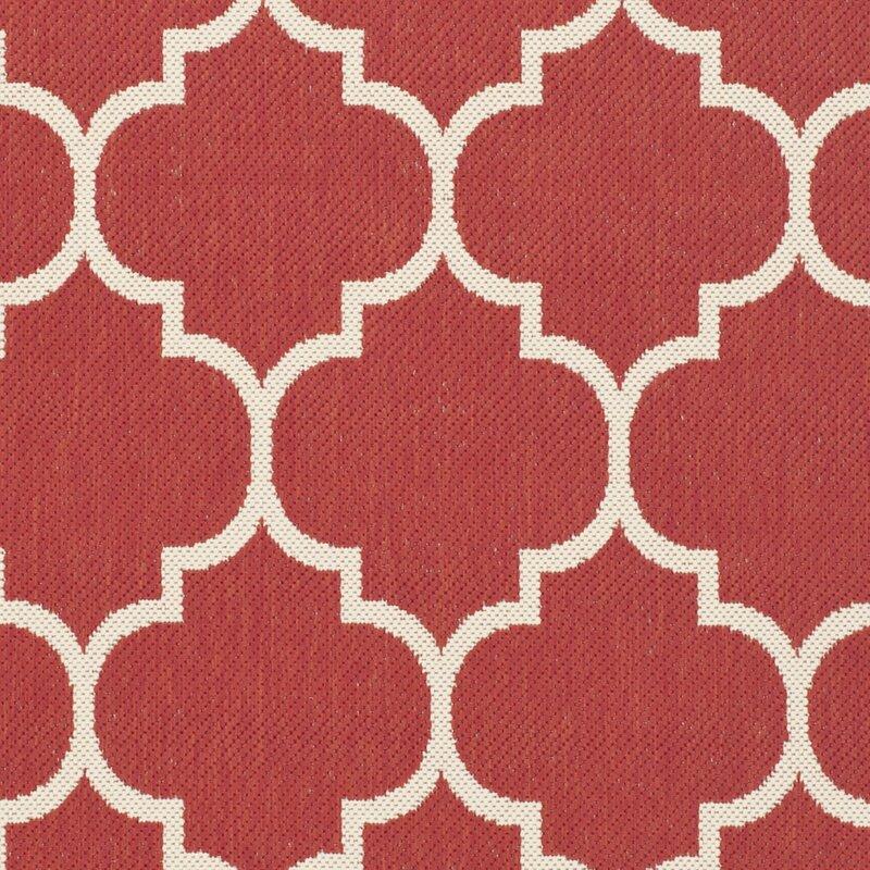 safavieh innen au enteppich isaac in rot beige bewertungen. Black Bedroom Furniture Sets. Home Design Ideas