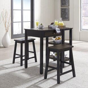 Swigart 3 Piece Breakfast Nook Dining Set