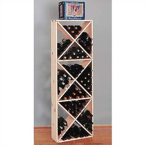 Country Pine Solid 132 Bottle Floor Wine ..