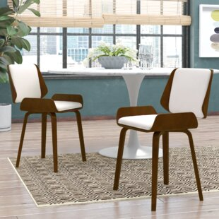 Burney Upholstered Dining Chair (Set of 2)