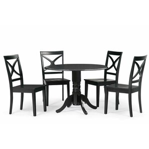 Chesterton 5 Piece Drop Leaf Dining Set by Alcot..