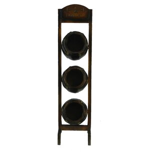 Luisa 3 Bottle Tabletop Wine Rack