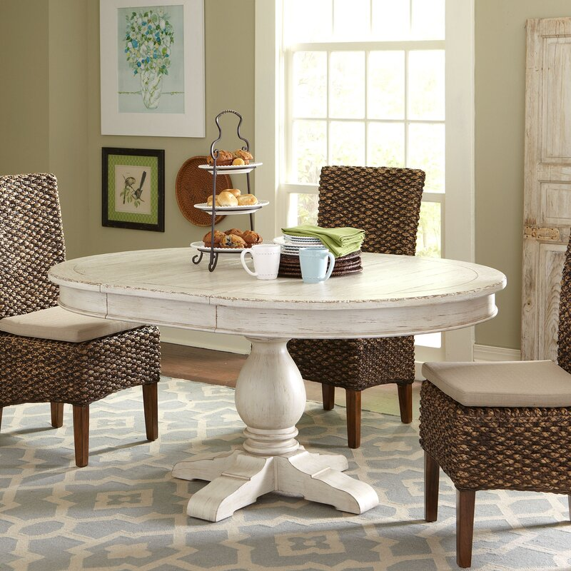 Extending Dining Room Table Glamorous Clearbrook Round Extending Dining Table & Reviews  Birch Lane Inspiration