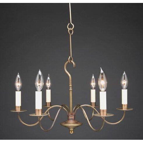 Northeast lantern sockets s arms hanging 6 light candle style sockets s arms hanging 6 light candle style chandelier mozeypictures Images