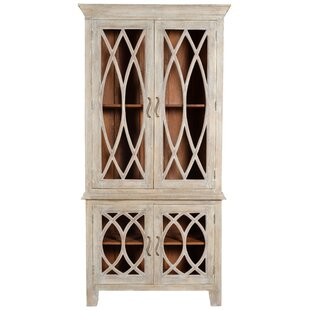 Tall Glass Door Cabinet | Wayfair
