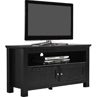 wood cabinet tv stand for tvs up to 43 - Bedroom Tv Stand