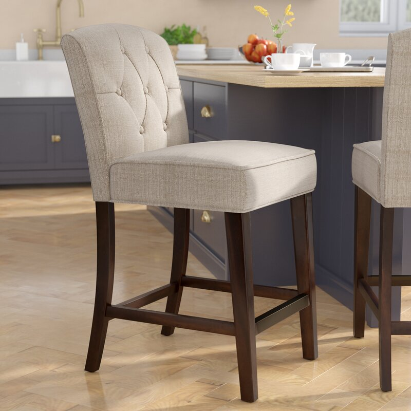 "Kitchen Counter With Bar Stools: Three Posts Cayman 26"" Counter Stool & Reviews"