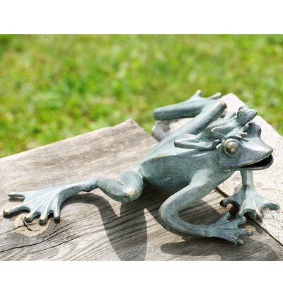 garden frog statue. Mama And Baby Garden Frogs Statue Frog O