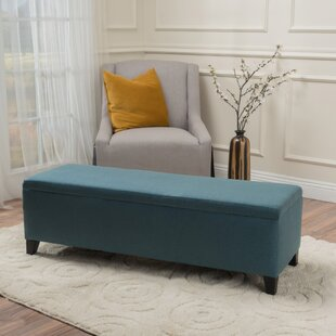 Delicieux Teal Storage Bench | Wayfair