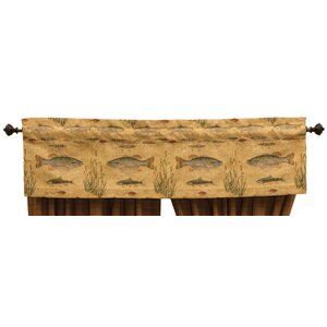 Reel Time 55 Curtain Valance
