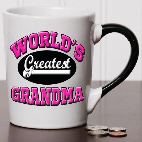 tumbleweed 20 oz world s greatest grandma stoneware coffee mug wayfair