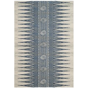 Elson Ivory/Blue Area Rug
