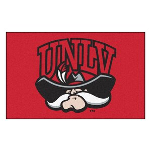 Collegiate NCAA University of Nevada, Las Vegas (UNLV) Doormat