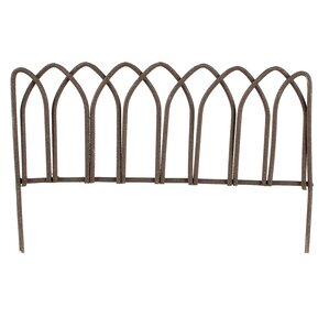 2.2 in. x 3 in. Garden Fence by Blossom B..