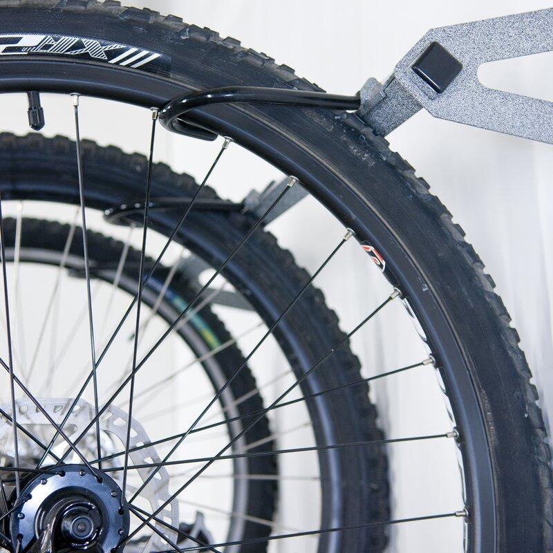 Monkey Bar 3 Bike Storage Wall Mounted Bike Rack Amp Reviews