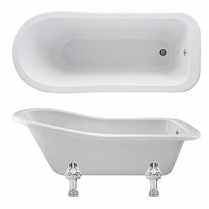 Old London 150 cm x 73 cm Standard-Badewanne Bro..
