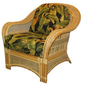 Armchair by Spice Islands Wicker