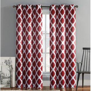 Geometric Curtains Drapes