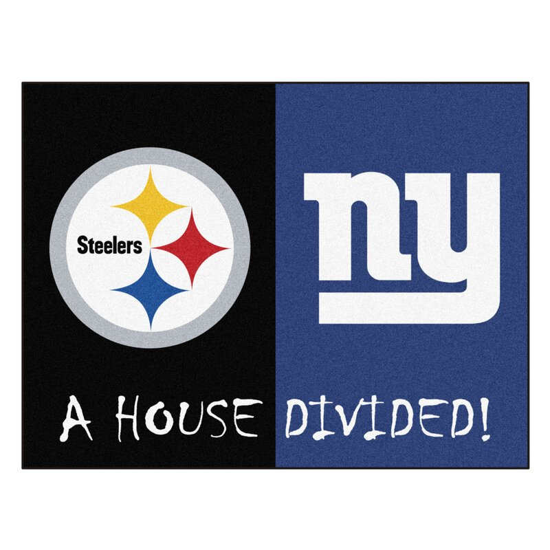 8321b960e82 FANMATS NFL Pittsburgh Steelers/New York Giants Door Mat | Wayfair
