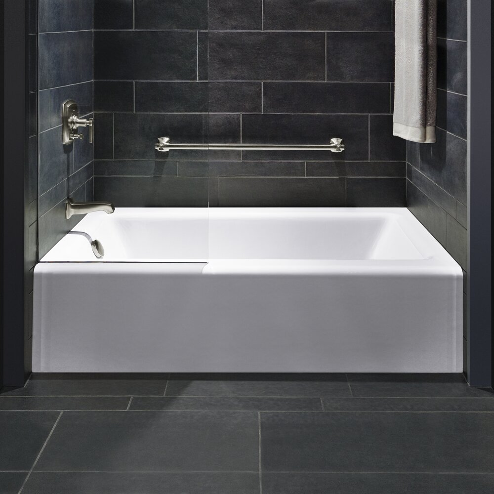 kohler bellwether alcove 60 x 32 soaking bathtub reviews