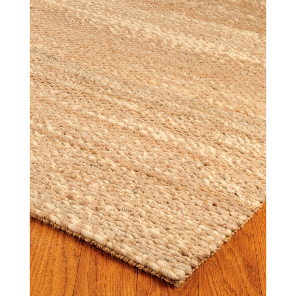 Natural area rugs jute garnet wool beige area rug for Dining room rugs 9x12