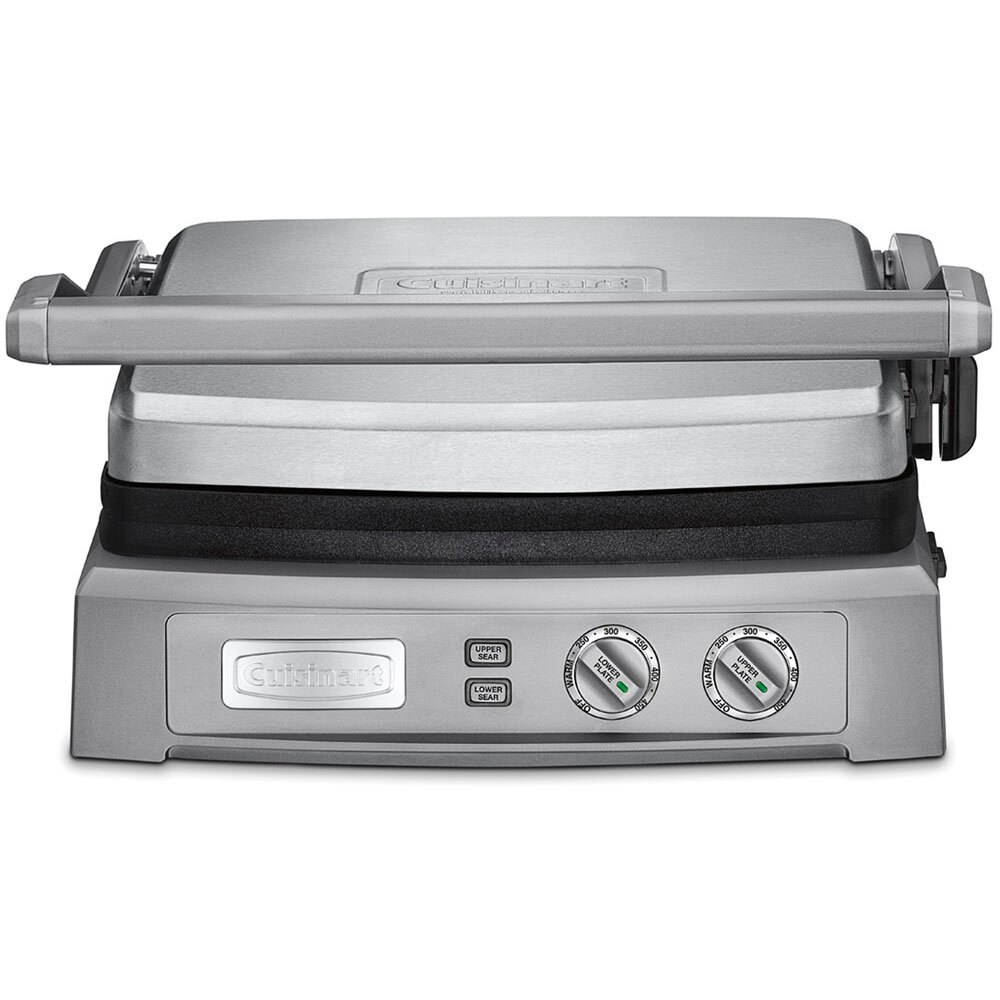 Deluxe Nonstick Reversible Grill Pan And Griddle