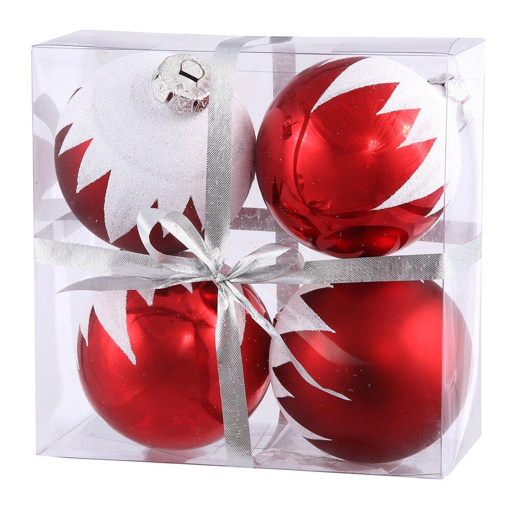 Vickerman Snow Cap Ball Christmas Ornament & Reviews   Wayfair