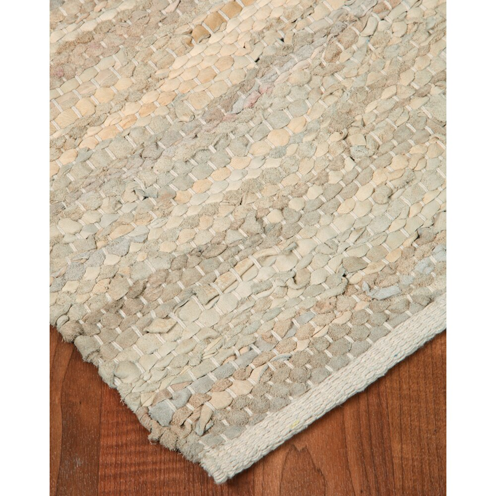 Natural area rugs anchor leather hand loomed area rug for Dining room rugs 9x12