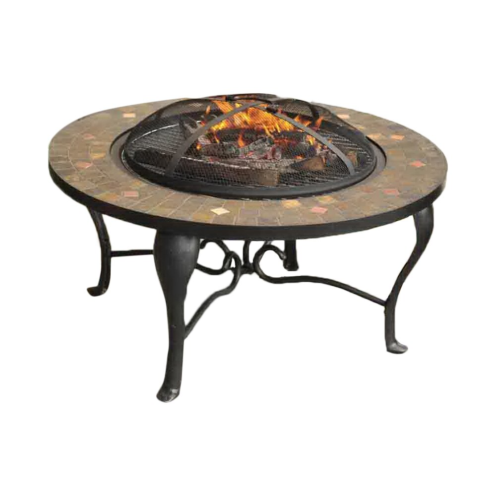 Sunjoy Sumpter Steel Wood Burning Fire pit table amp Reviews  : SumpterSteelWoodBurningFirePittable from www.wayfair.ca size 1000 x 1000 jpeg 69kB