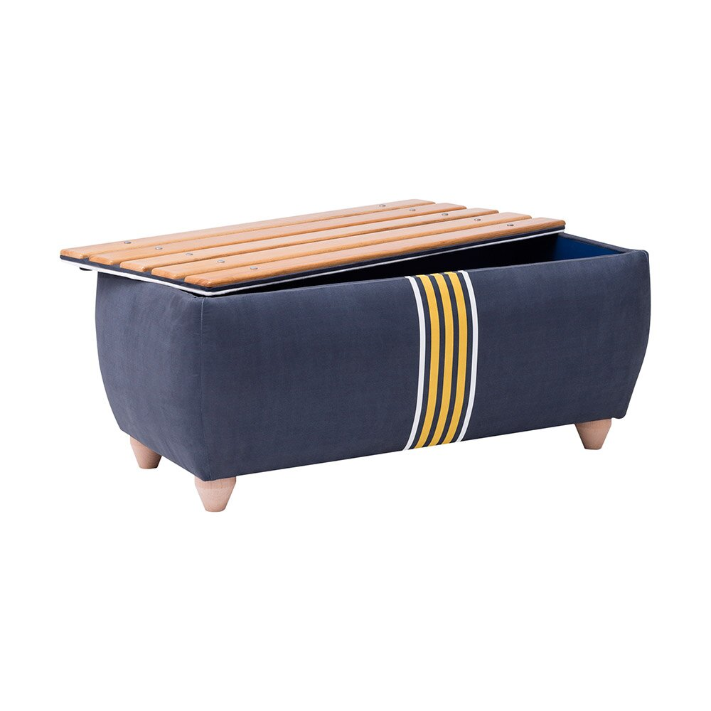 Soccer Kids Bench and Ottoman with Storage Compartment - Cilek Soccer Kids Bench And Ottoman With Storage Compartment Wayfair