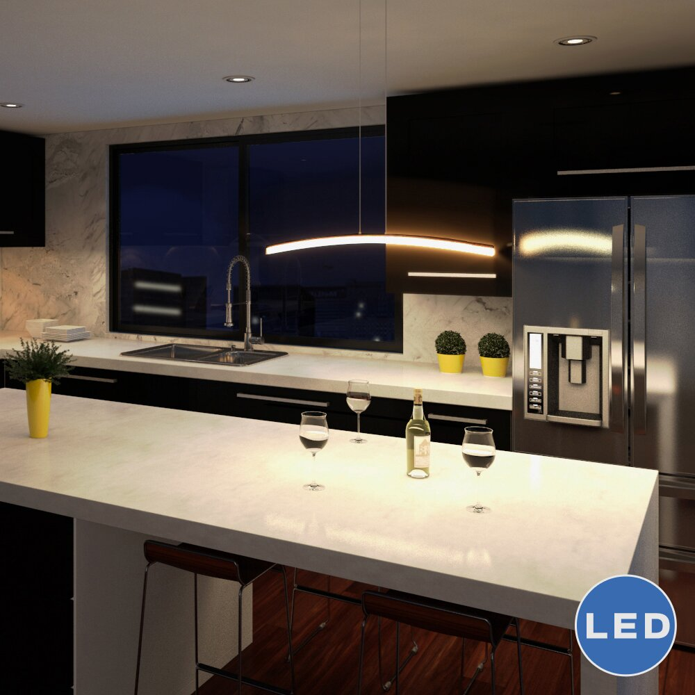 Haeidi LED Kitchen Island Pendant & Reviews