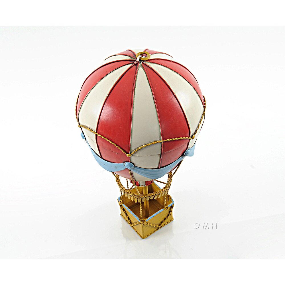 Old Modern Handicrafts Vintage Hot Air Balloon Model