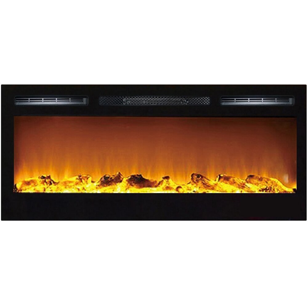Gibson Living Madison Log Wall Mount Electric Fireplace Reviews .