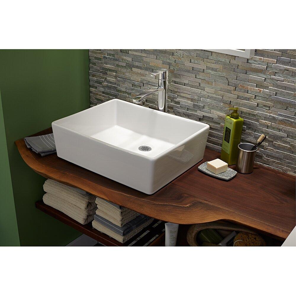 American standard cadet rectangular vessel bathroom sink - American standard sinks bathroom ...