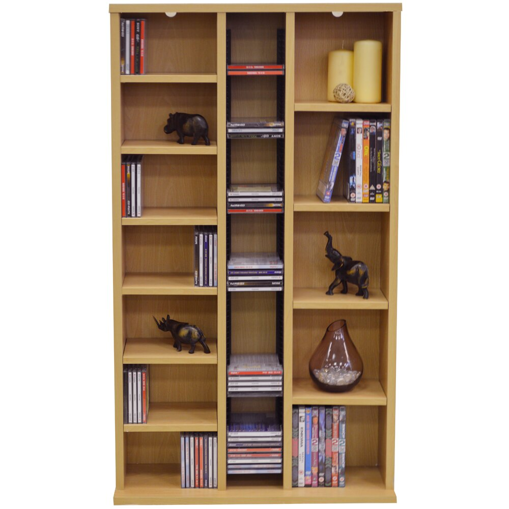 House additions multimedia storage rack reviews - Estanterias para cds ...