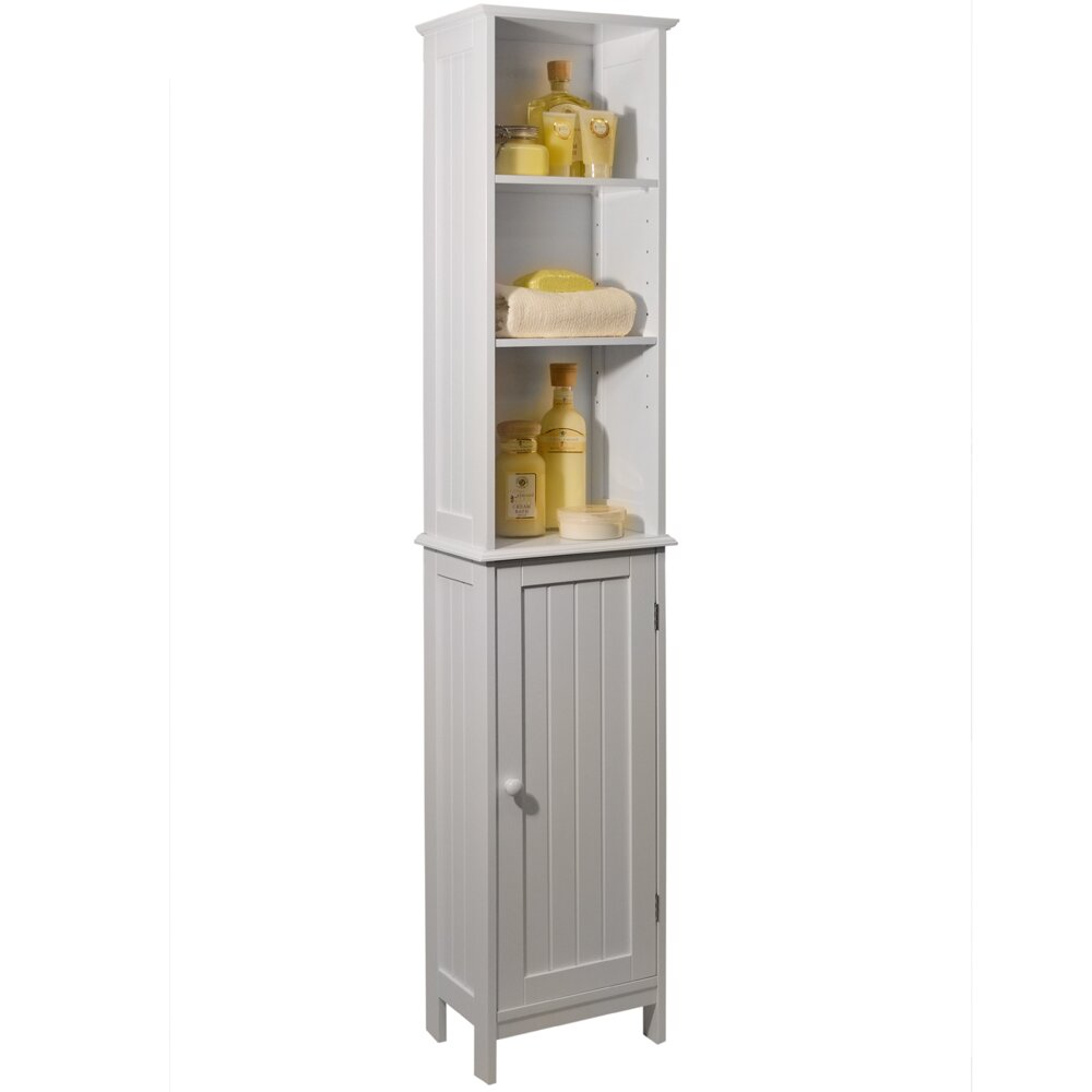 House Additions 34 5 X 165cm Free Standing Tall Bathroom Cabinet Reviews