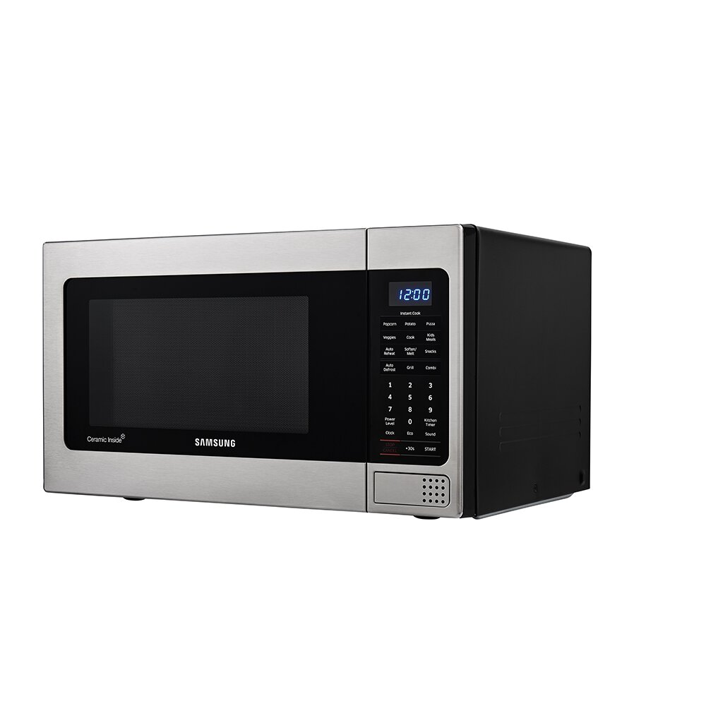 Samsung 20 Quot 1 1 Cu Ft Countertop Microwave With Grilling