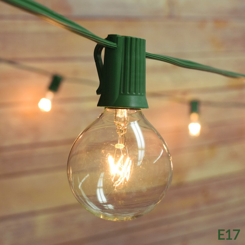 ThePaperLanternStore 25-Light 28 ft. Globe String Lights & Reviews Wayfair.ca