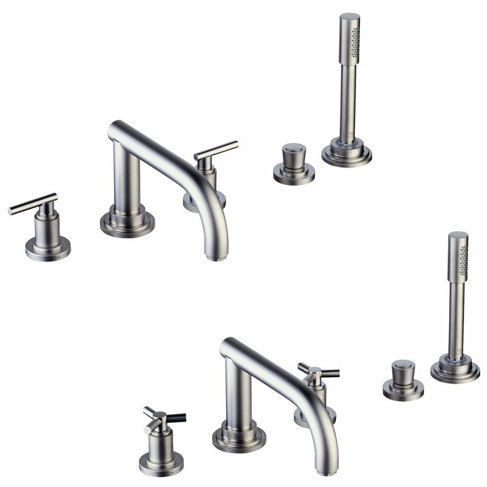 grohe atrio roman tub faucet with hand shower