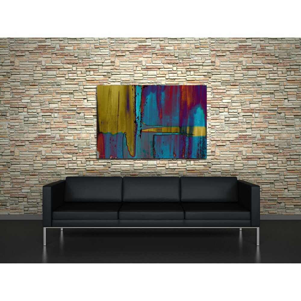 39negatives39 abstract painting print on wrapped canvas for Best brand of paint for kitchen cabinets with abstract bathroom wall art