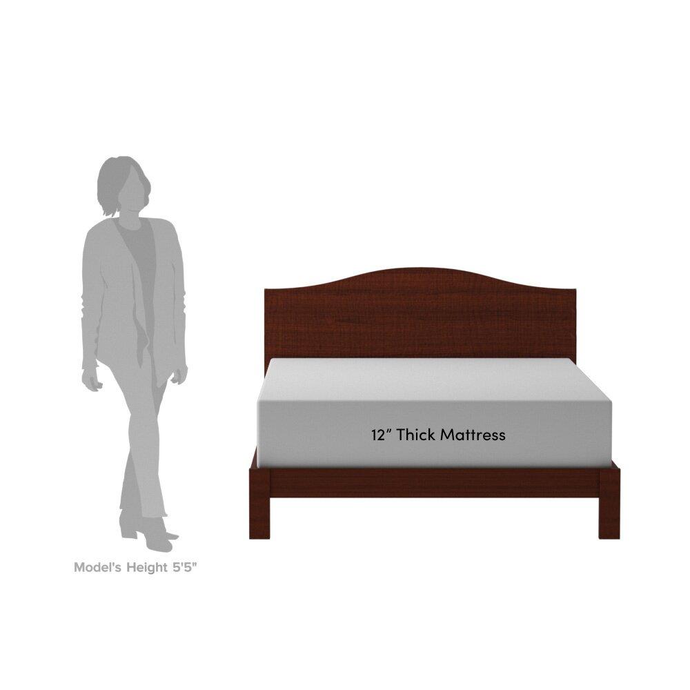 "12"" Memory Foam Mattress & Reviews"