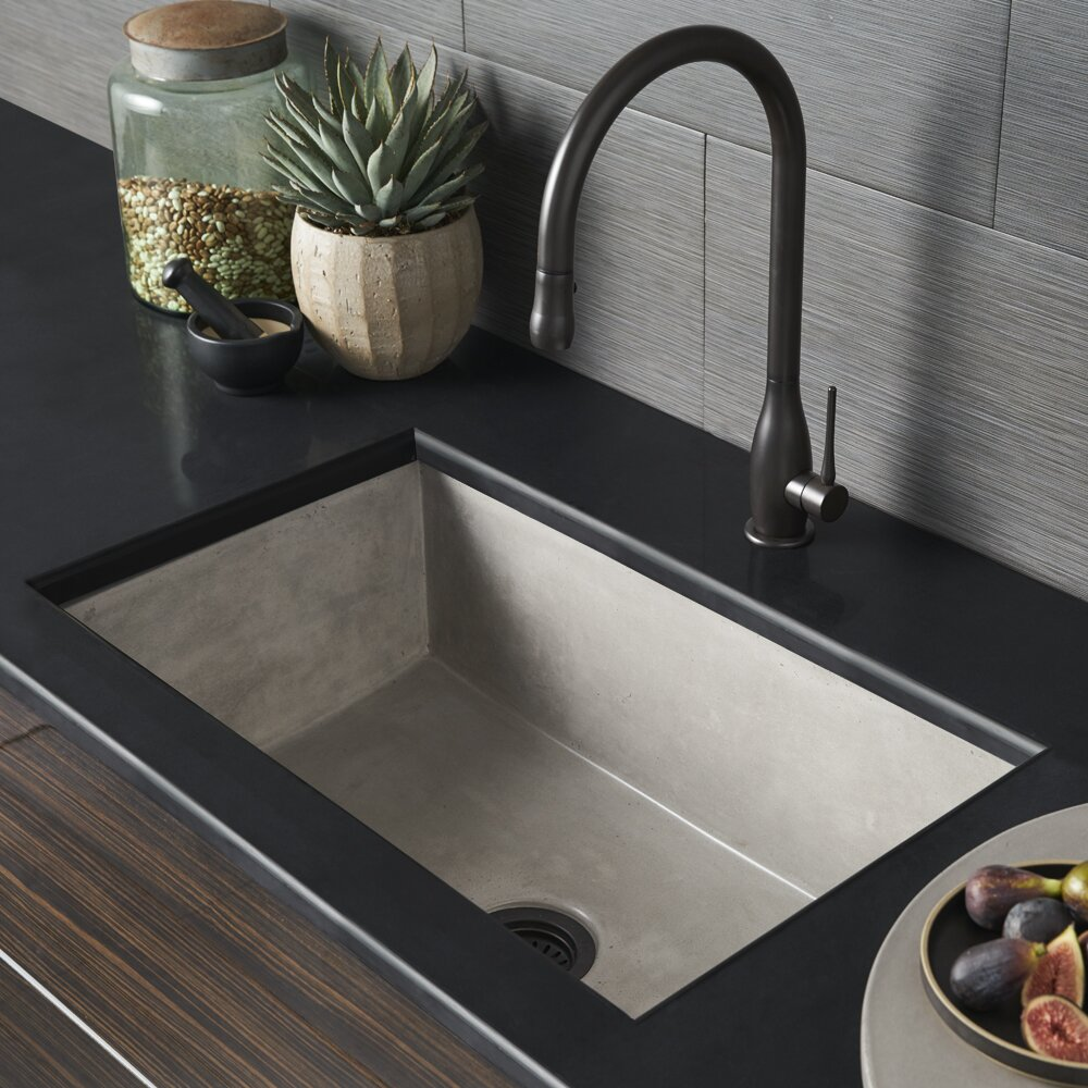 "Native Trails Farmhouse 30"" X 18"" Stone Kitchen Sink"