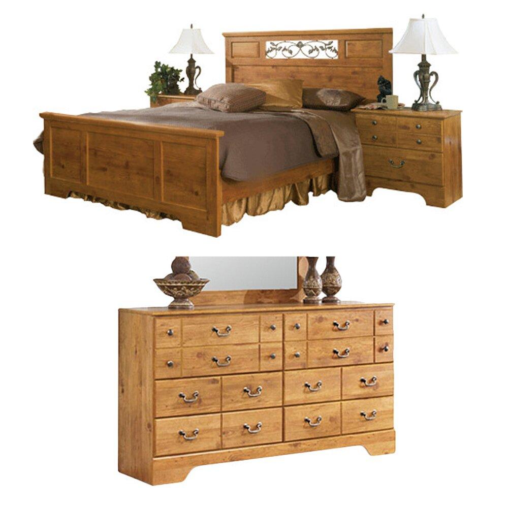 August Grove Cheyanne Panel Customizable Bedroom Set