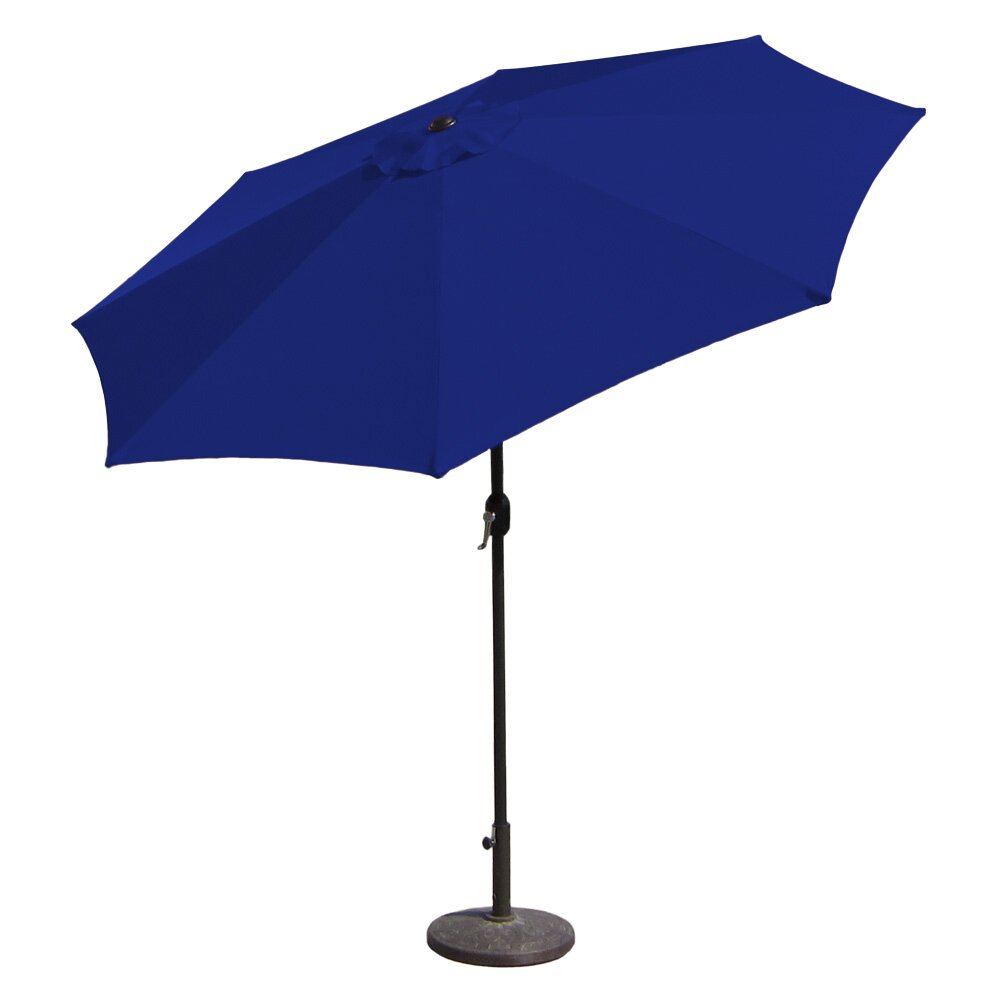 Budgeindustries Sunblok Patio Market Umbrella With Tilt