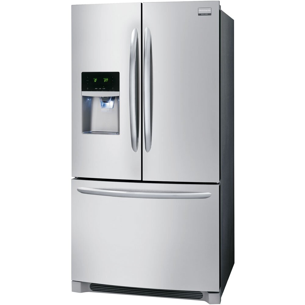 French Door Refrigerators: Frigidaire Gallery 22.6 Cu. Ft. Counter Depth French Door
