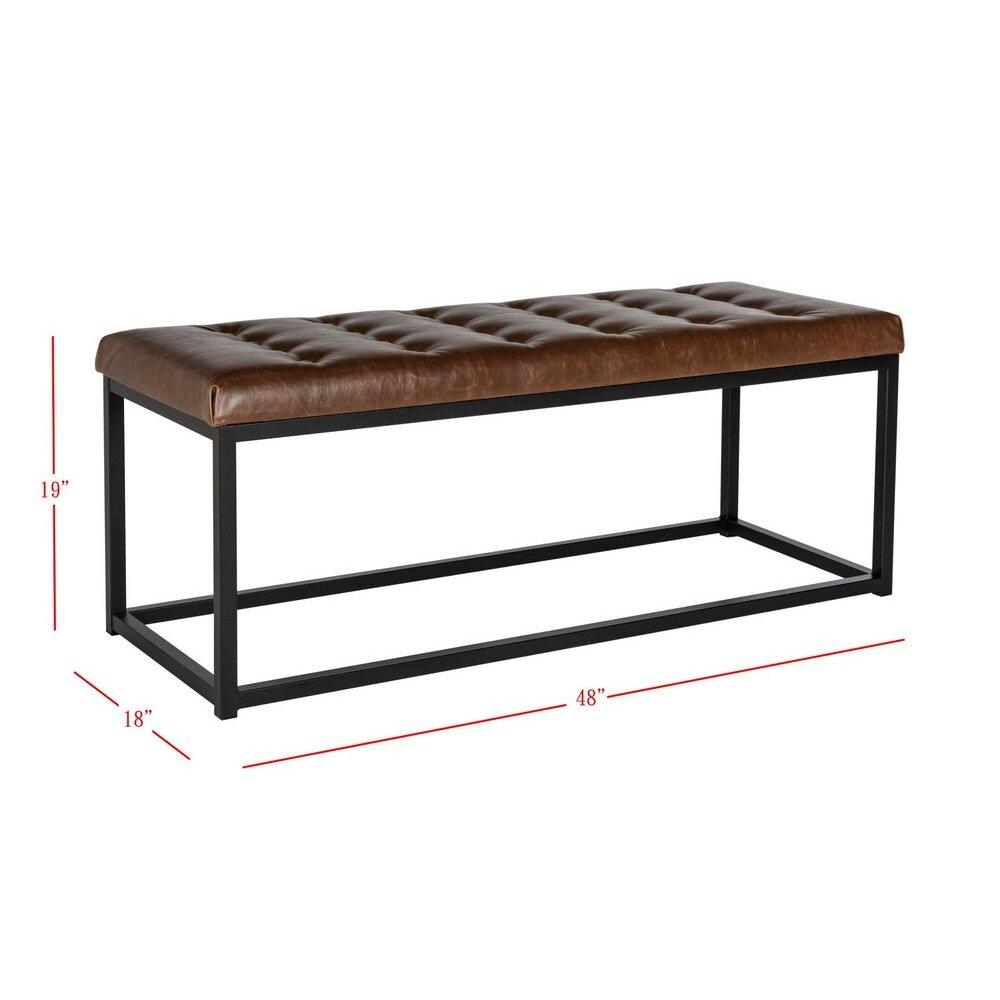 Bedroom bench dimensions - Marinda Bedroom Bench