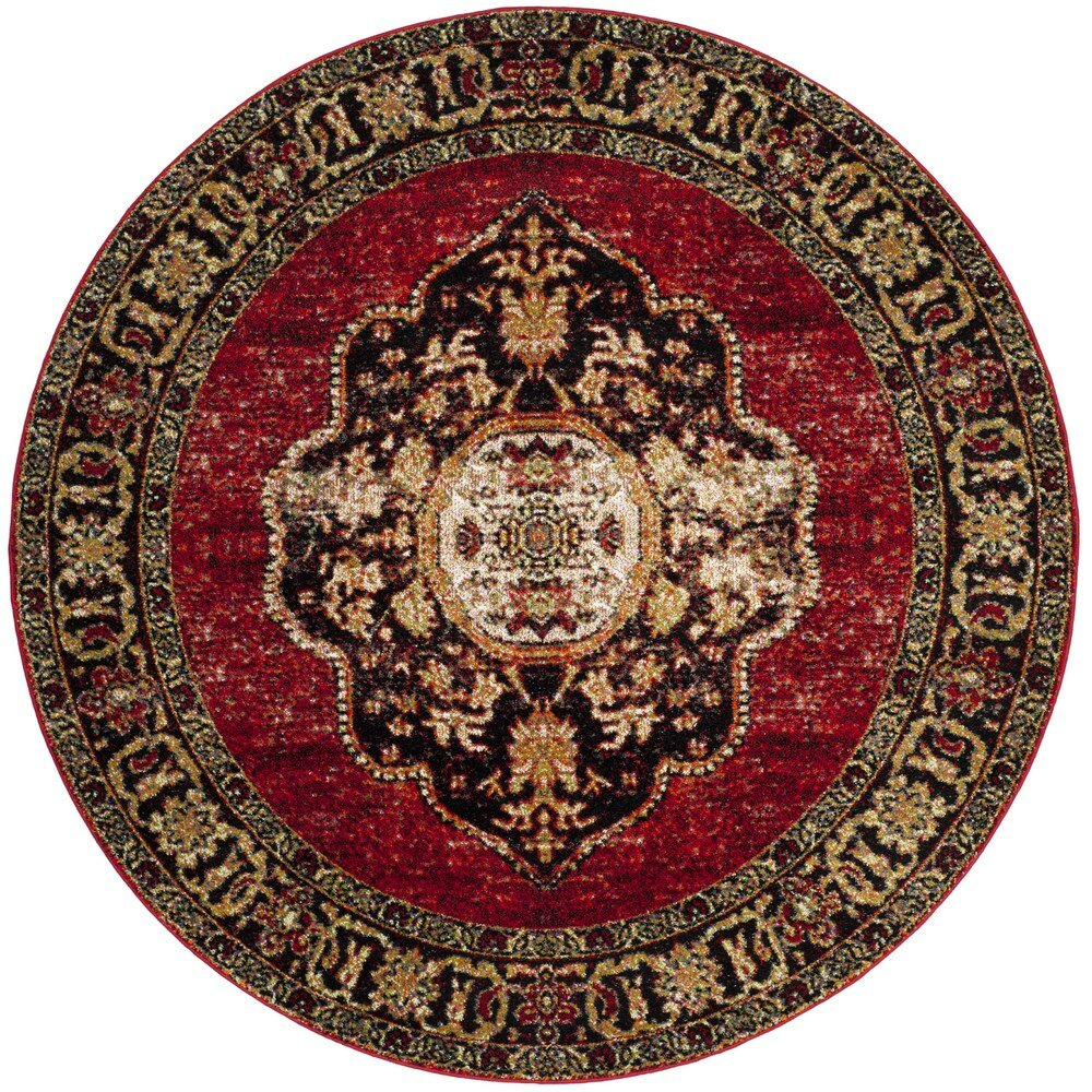 World Menagerie Byron Red Area Rug Amp Reviews Wayfair Ca