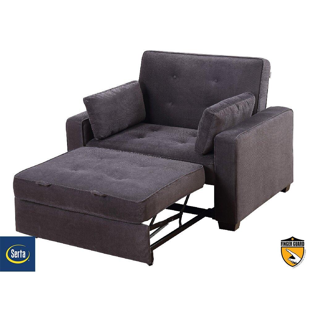 Serta Futons Serta Anderson Twin Convertible Chair  : SertaAndersonTwinConvertibleChair from www.wayfair.com size 1000 x 1000 jpeg 155kB