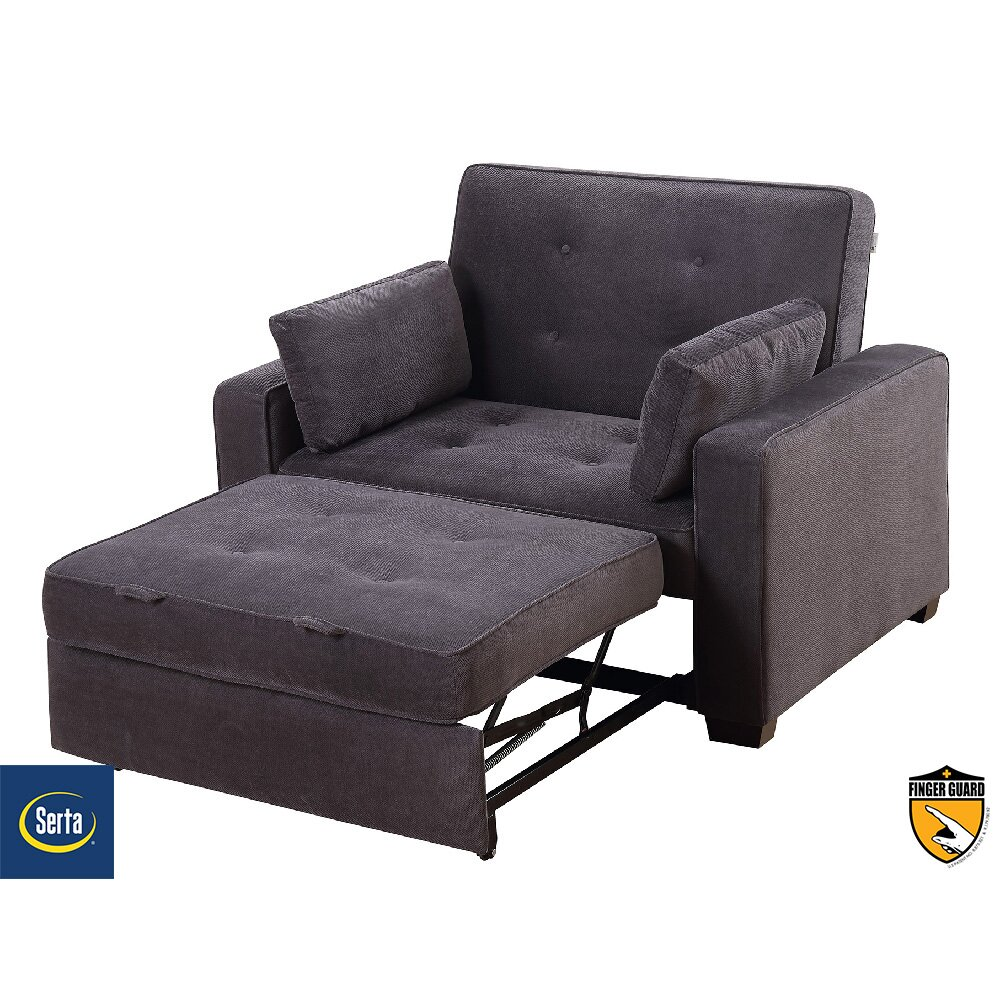 Serta Futons Serta Anderson Twin Convertible Chair & Reviews | Wayfair