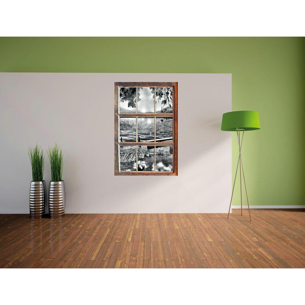 home loft concept wandtattoo steg im sonnenuntergang. Black Bedroom Furniture Sets. Home Design Ideas